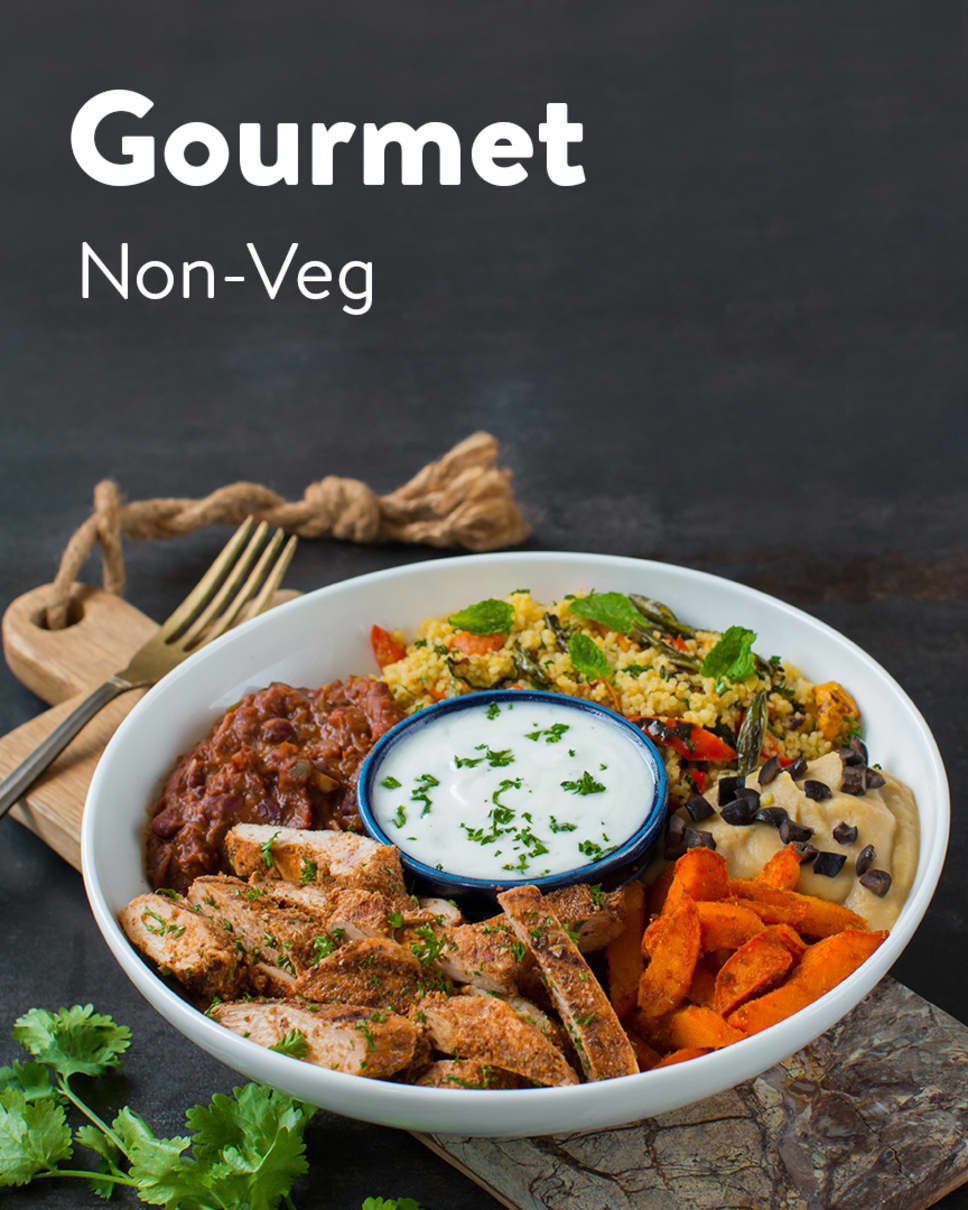 Gourmet Non-Veg Homely Meals Subscription at Eat.fit
